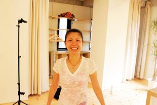 東京ヨガウェア2.0 新作商品の撮影 看板娘マコちゃん
